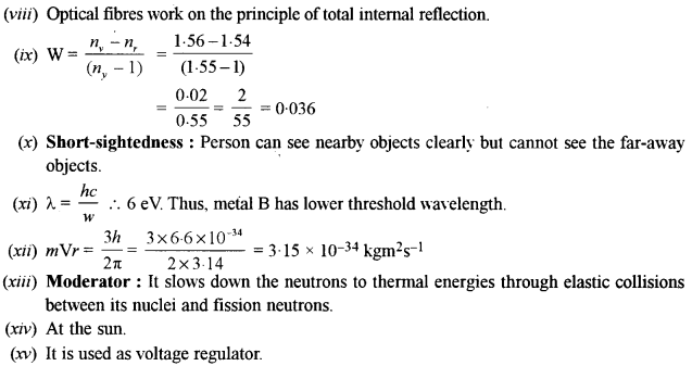 ISC Physics Question Paper 2016 Solved for Class 12 8