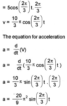 Plus One Physics Chapter Wise Questions and Answers Chapter 14 Oscillations 4M Q7.1