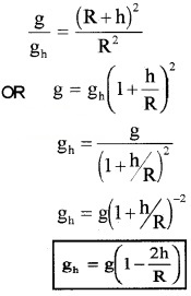 Plus One Physics Notes Chapter 8 Gravitation 13