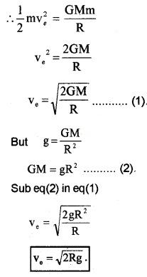 Plus One Physics Notes Chapter 8 Gravitation 22