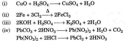 ICSE Chemistry Question Paper 2010 Solved for Class 10 - 14