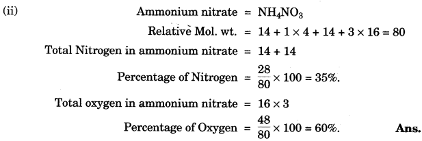 ICSE Chemistry Question Paper 2010 Solved for Class 10 - 4
