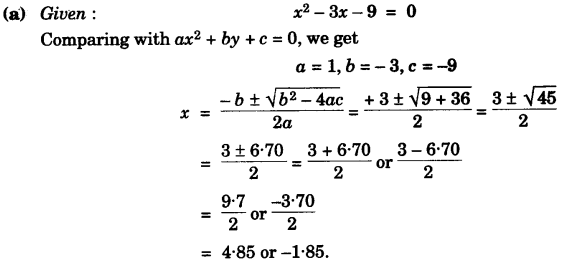 ICSE Maths Question Paper 2007 Solved for Class 10 20