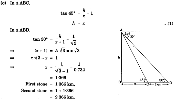 ICSE Maths Question Paper 2007 Solved for Class 10 30