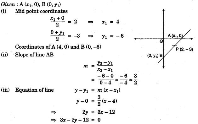 ICSE Maths Question Paper 2010 Solved for Class 10 10