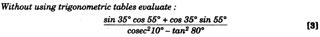 ICSE Maths Question Paper 2010 Solved for Class 10 11