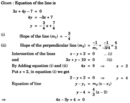 ICSE Maths Question Paper 2010 Solved for Class 10 29