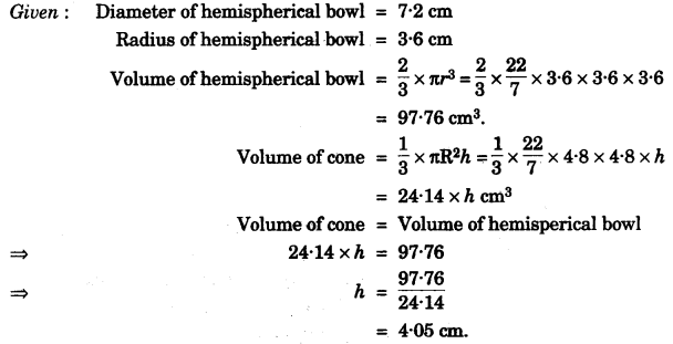 ICSE Maths Question Paper 2010 Solved for Class 10 46