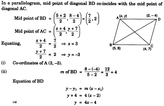 ICSE Maths Question Paper 2011 Solved for Class 10 21.1
