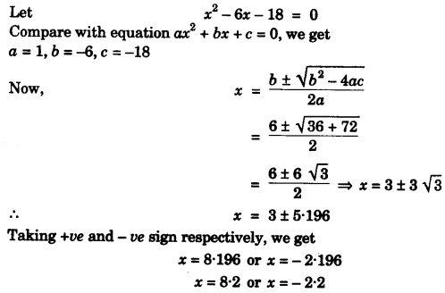 ICSE Maths Question Paper 2011 Solved for Class 10 8