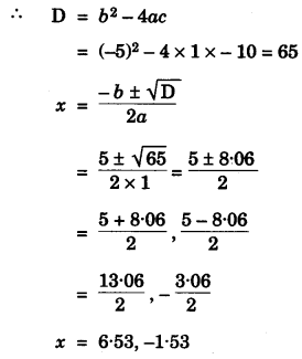 ICSE Maths Question Paper 2013 Solved for Class 10 14