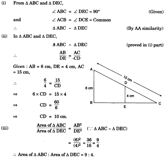 ICSE Maths Question Paper 2013 Solved for Class 10 15