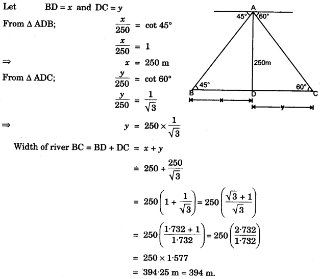 ICSE Maths Question Paper 2014 Solved for Class 10 46