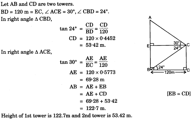 ICSE Maths Question Paper 2015 Solved for Class 10 34