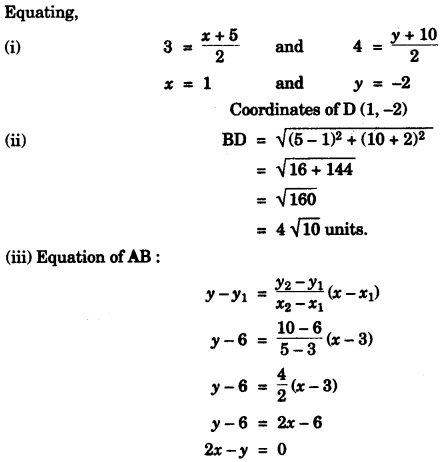 ICSE Maths Question Paper 2015 Solved for Class 10 8