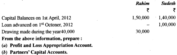 ISC Accounts Question Paper 2014 Solved for Class 12 15