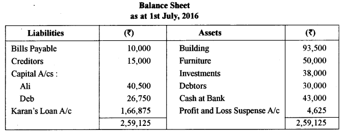 ISC Accounts Question Paper 2017 Solved for Class 12 4