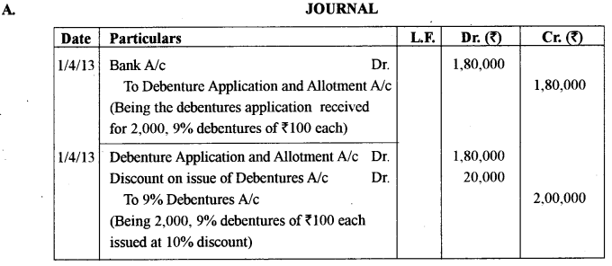 ISC Accounts Question Paper 2018 Solved for Class 12 6