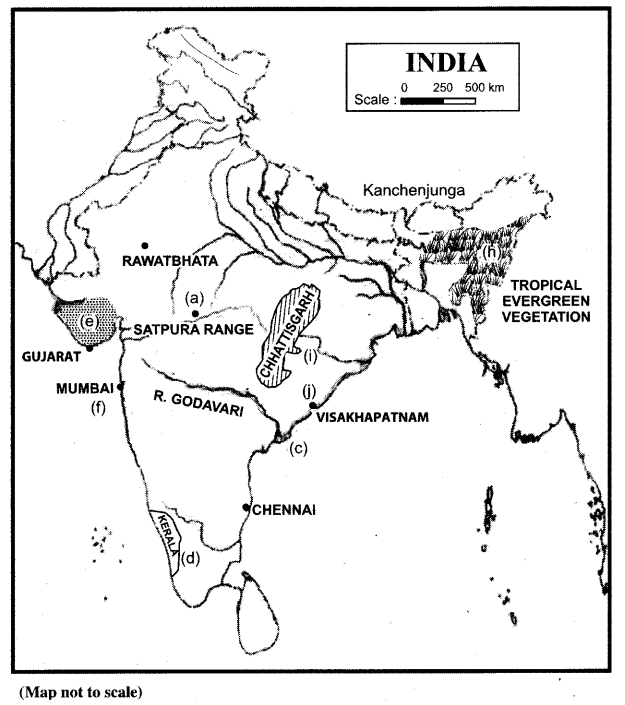 ISC Geography Question Paper 2013 Solved for Class 12 - 2