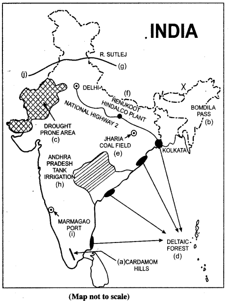 ISC Geography Question Paper 2014 Solved for Class 12 - 2