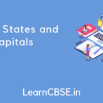Indian States and Capitals