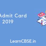 ITI Admit Card 2019