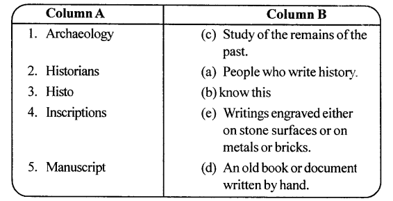 ICSE Solutions for Class 6 History and Civics - History - An Introduction 3