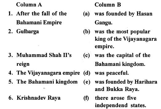 ICSE Solutions for Class 7 History and Civics - The Vijayanagar and Bahmani Kingdom 1