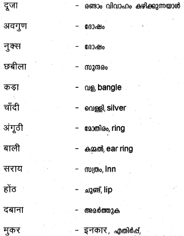 Plus Two Hind Textbook Answers Unit 3 Chapter 3 मुरकी उर्फ बुलाकी (कहानी) 19