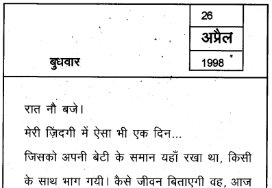 Plus Two Hind Textbook Answers Unit 3 Chapter 3 मुरकी उर्फ बुलाकी (कहानी) 5a