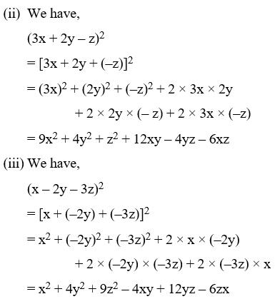 Algebraic Identities Of Polynomials 10