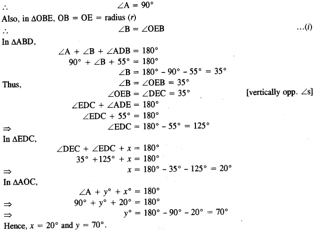 ICSE Maths Question Paper 2019 Solved for Class 10 26