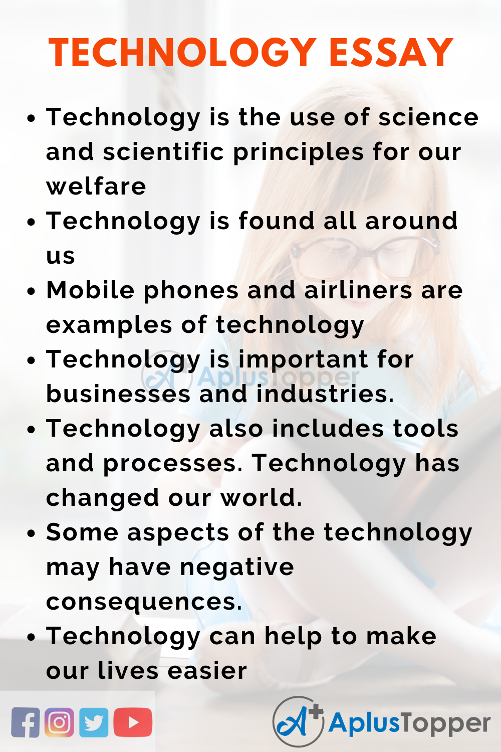 10 Lines Essay on Technology 100 Words