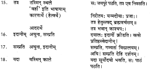 Avyay In Sanskrit 3
