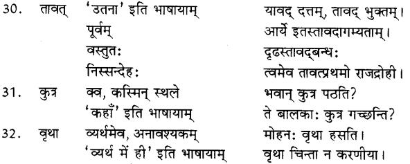 Avyay In Sanskrit 6