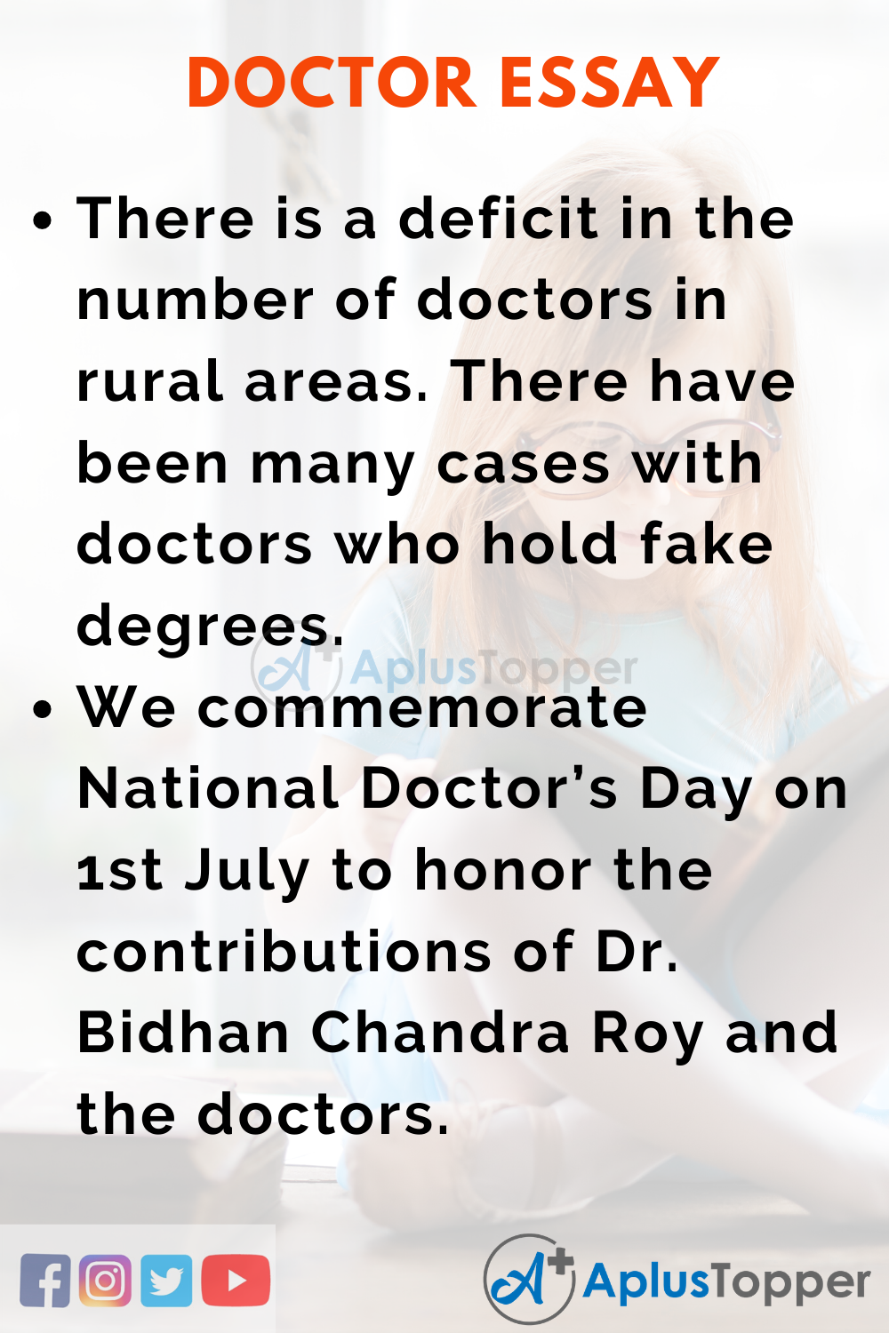 Essay About Doctor
