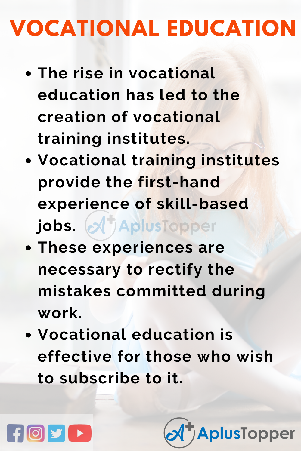 Essay About Vocational Education
