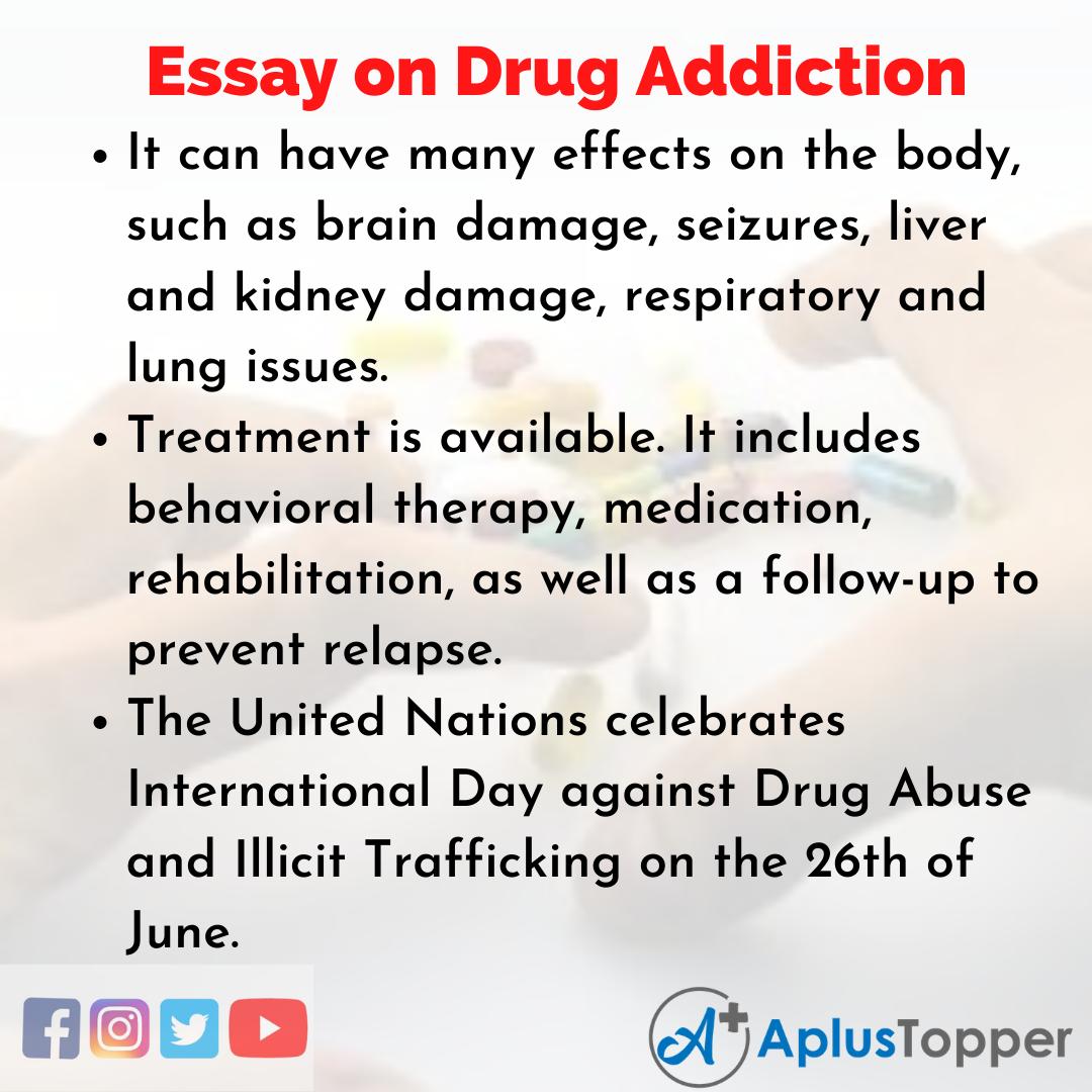 Essay about Drug Addiction
