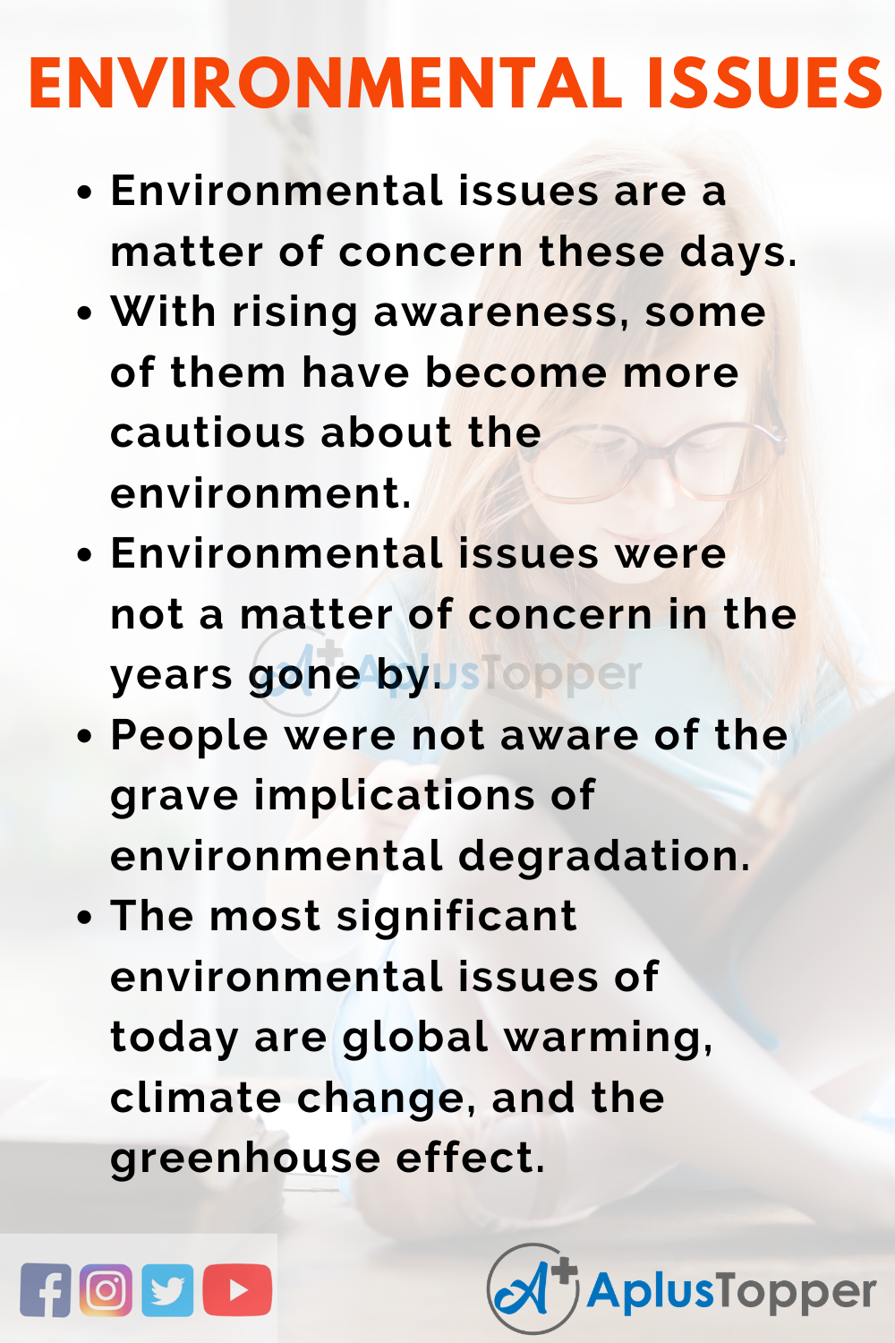 Essay about Environmental issues