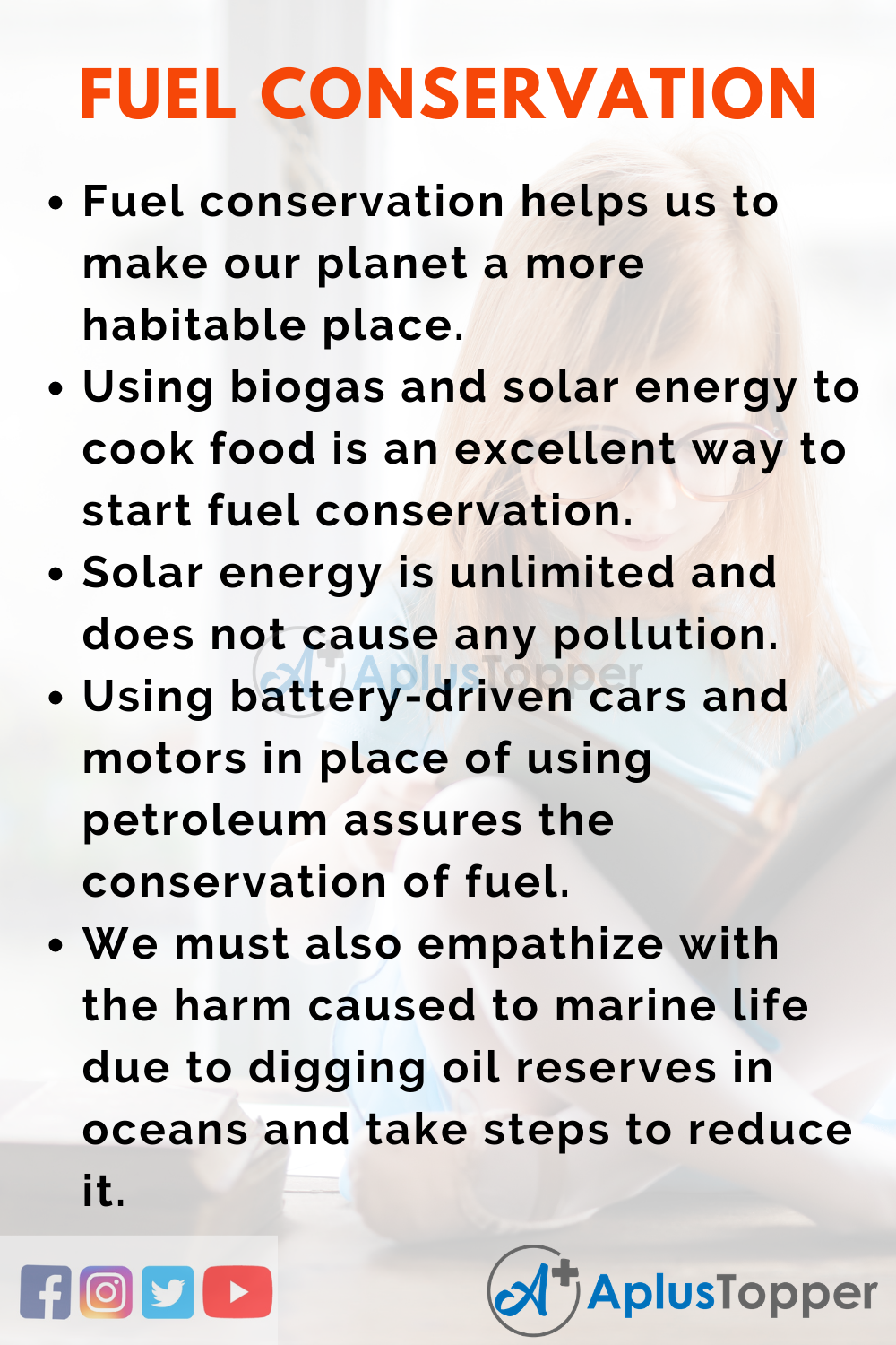 Essay about Fuel Conservation