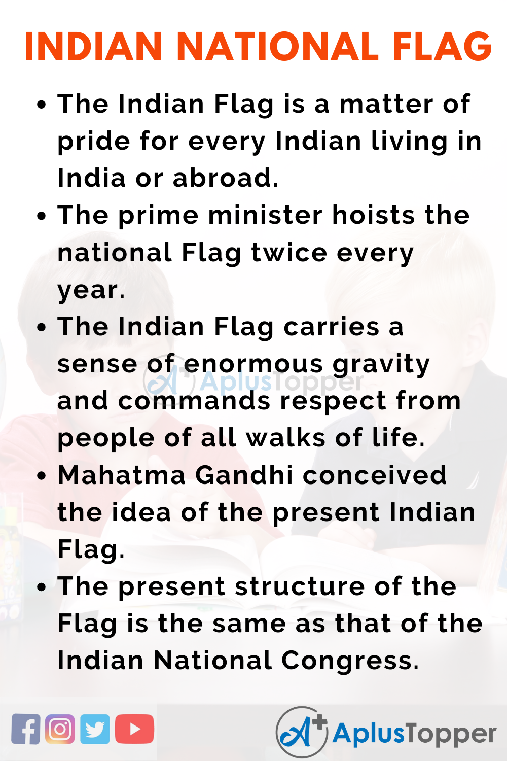 Essay about Indian National Flag
