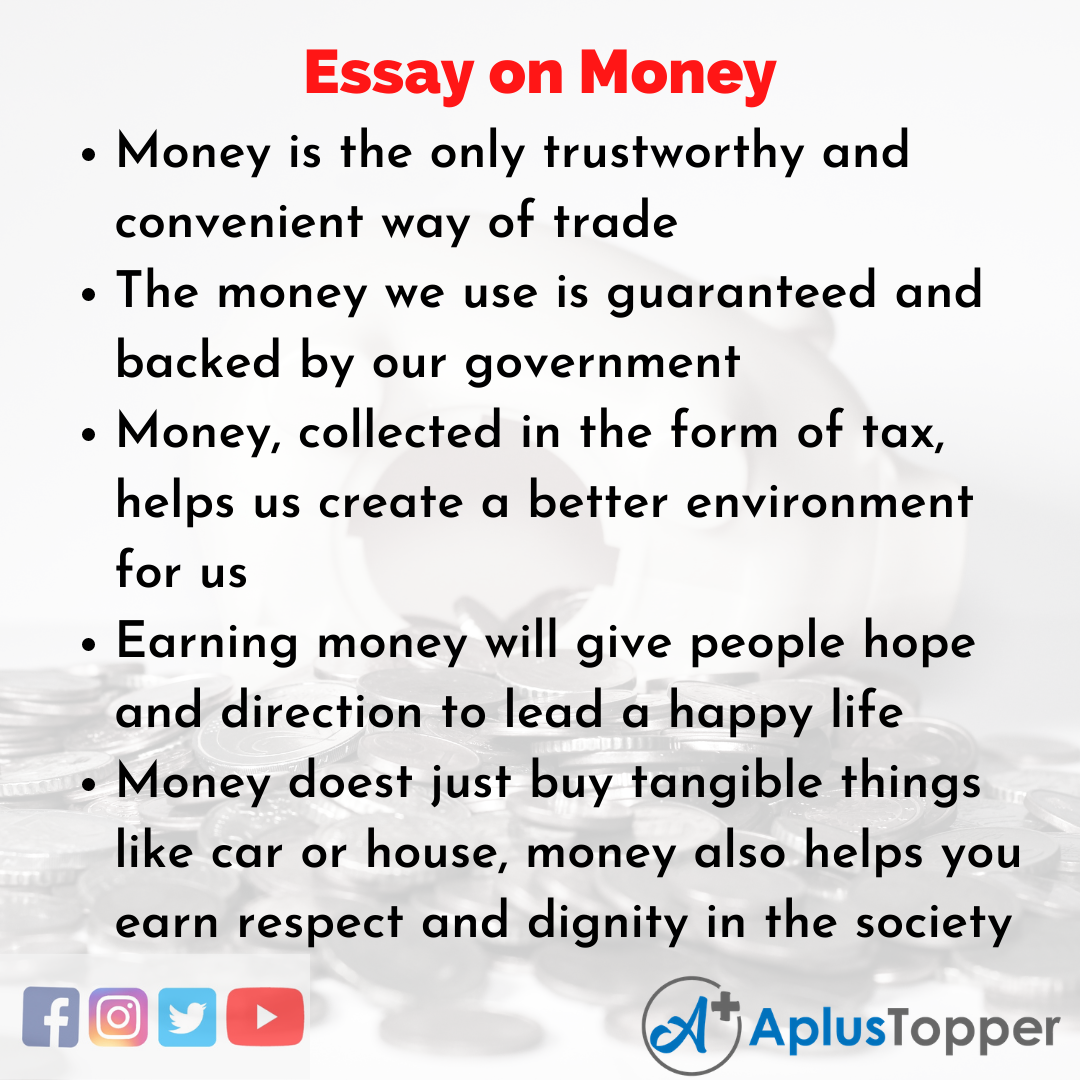 Essay about Money