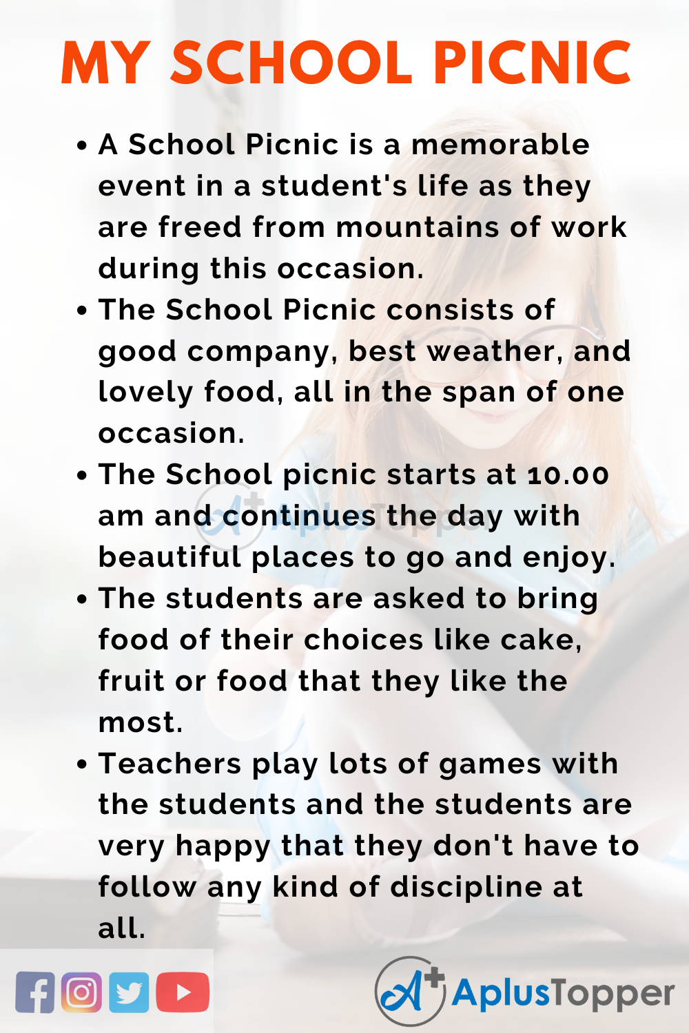 Essay about My School Picnic