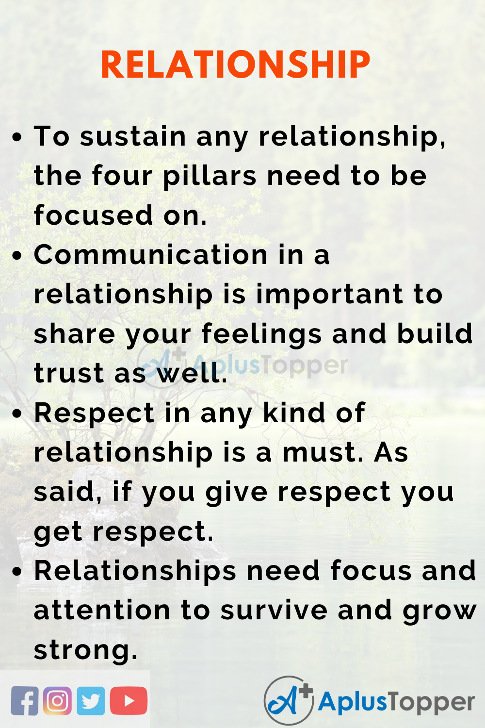 Essay about Relationship