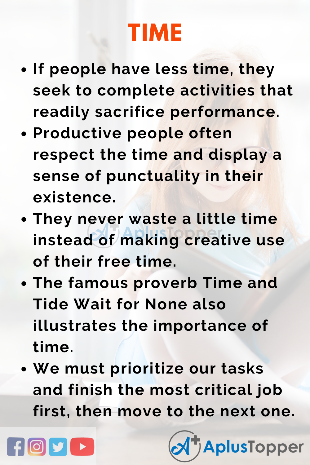 Essay about Time
