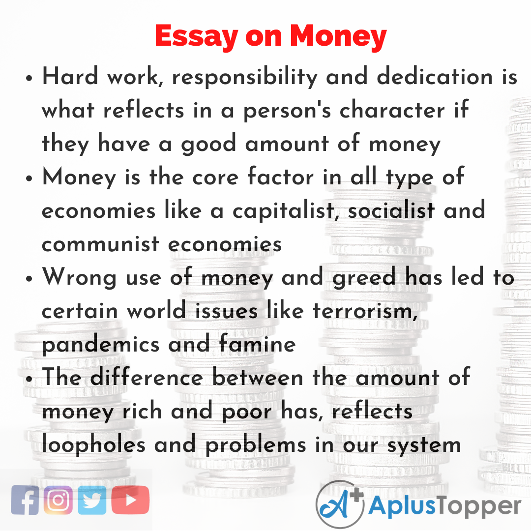 Essay for Money