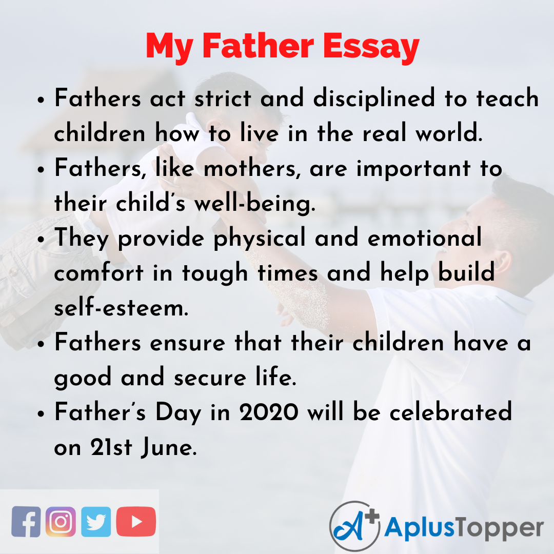 Essay for My Father