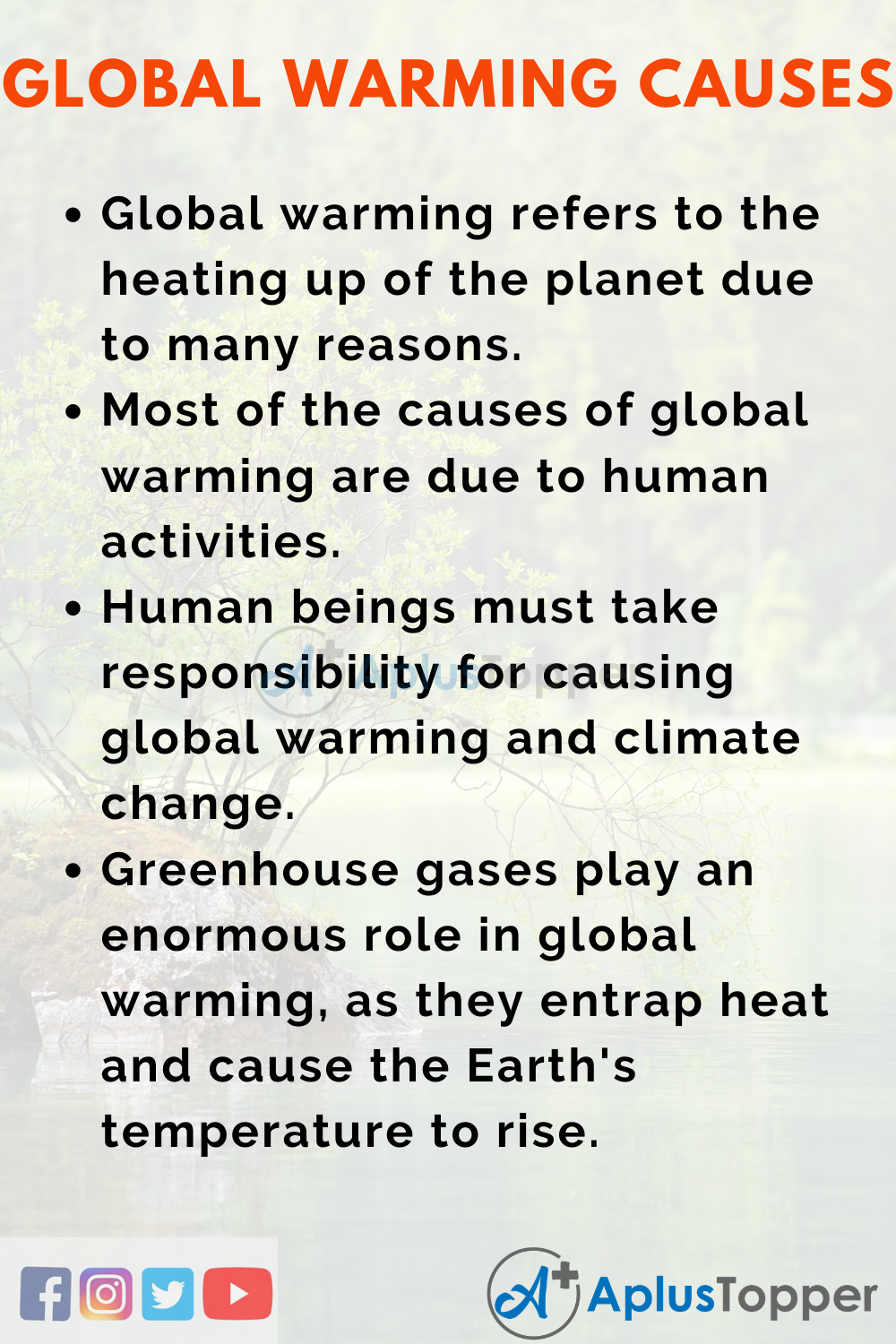 Global warming cause and effects essay how to write a term paper using apa format