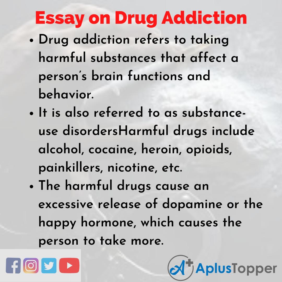 Essay on Drug Addiction