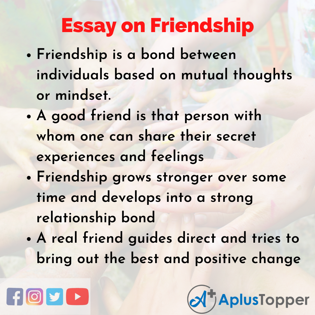 Valuing friendship essay esl research proposal editor sites for masters